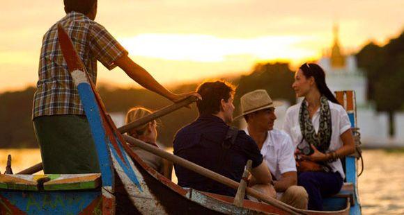 Myanmar Cruise In Chindwin River